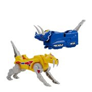 Power Rangers Mighty Morphin Triceratops and Sabertooth Tiger Dinozord 2-Pack