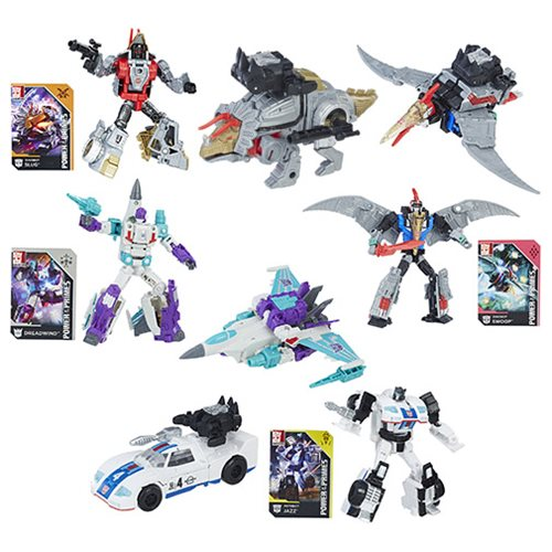 Transformers Generations Power of the Primes Deluxe Wave 1 Case