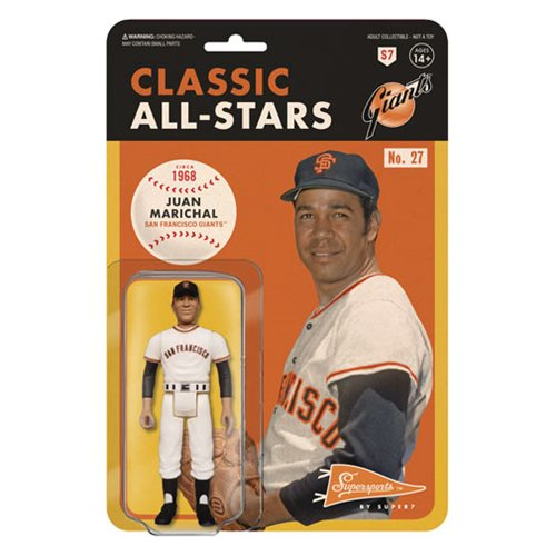 Major League Baseball Classic Juan Marichal (San Francisco Giants) ReAction Figure