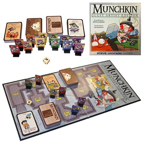 Munchkin Ian McGinty Guest Artist Edition Game