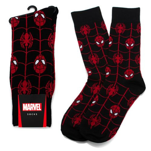 Spider-Man Web Black Socks