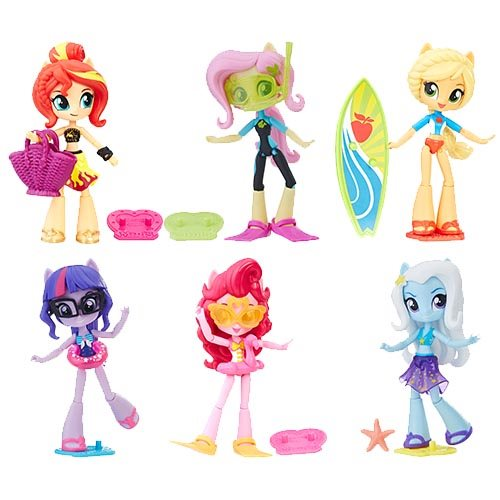 My Little Pony Equestria Girls Mini-Figures Wave 3 Case