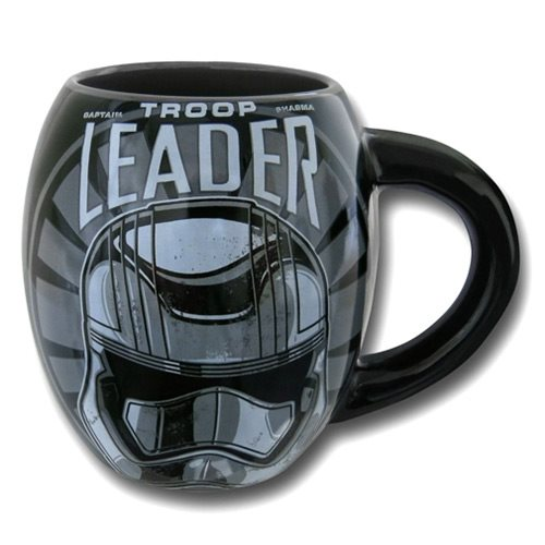 Star Wars: Episode VII - The Force Awakens Captain Phasma Troop Leader Logo 18 oz. Oval Ceramic Mug, Not Mint