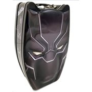 Black Panther Head Shape Carry All Tin Tote