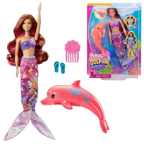 Barbie Dolphin Magic Co-Lead Doll