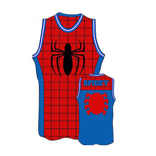 21094431d37f Spider-Man Basketball Jersey - Entertainment Earth