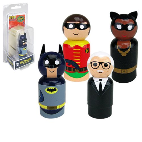 Batman Classic TV Series Pin Mates Wooden Collectibles Set 2