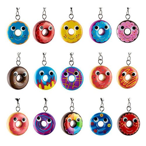 Yummy World Attack of the Donuts Key Chain Random 4-Pack