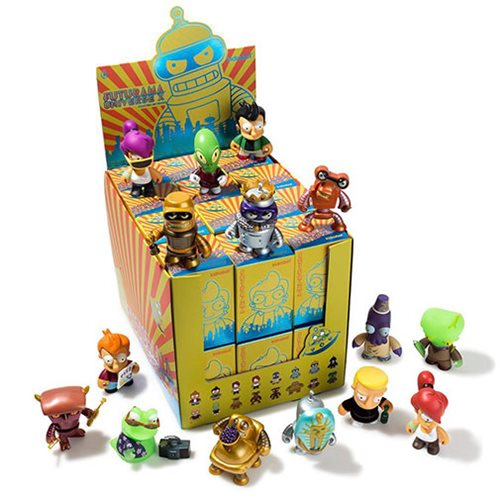 Futurama Universe X Mini-Figure Series Random 4-Pack