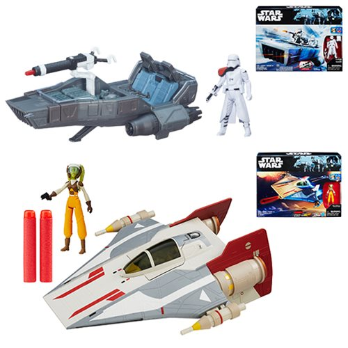 Star Wars Rogue One Class II Vehicles Wave 1 Case