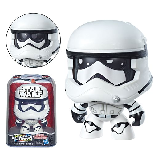Star Wars Mighty Muggs First Order Stormtrooper Figure