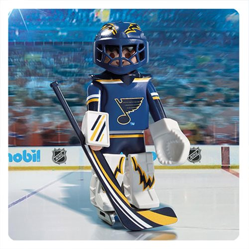 Playmobil 9183 NHL St. Louis Blues Goalie Action Figure