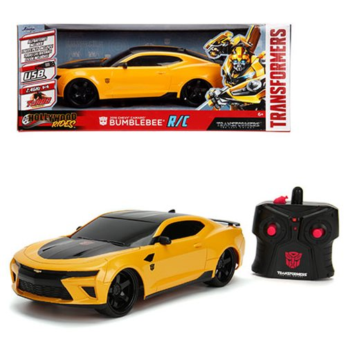 Transformers Hollywood Rides Bumblebee Chevy Camaro 1:16 Scale RC Vehicle