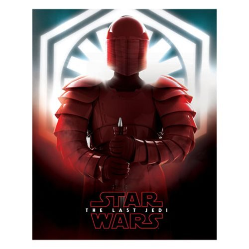 Star Wars: The Last Jedi Praetorian Guard Canvas Print