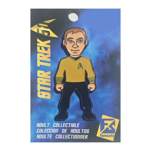 Star Trek Captain Kirk Pin