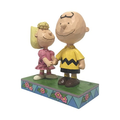 Peanuts Charlie Brown and Sally I Love My Big Brother by Jim Shore Statue