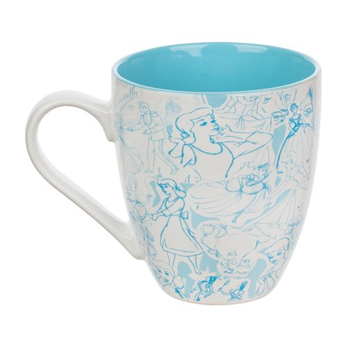 Cinderella 16 oz. Contemporary Mug