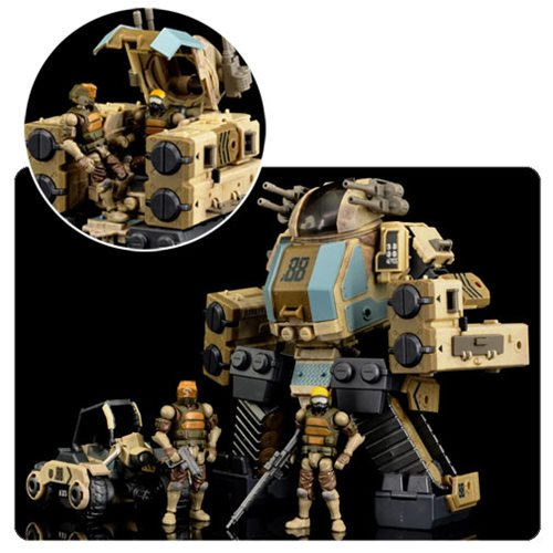 Acid Rain B2Five 88th Sand Deluxe Action Figure Set