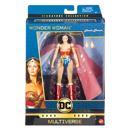 DC Multiverse Lynda Carter Wonder Woman Signature Collection Action Figure