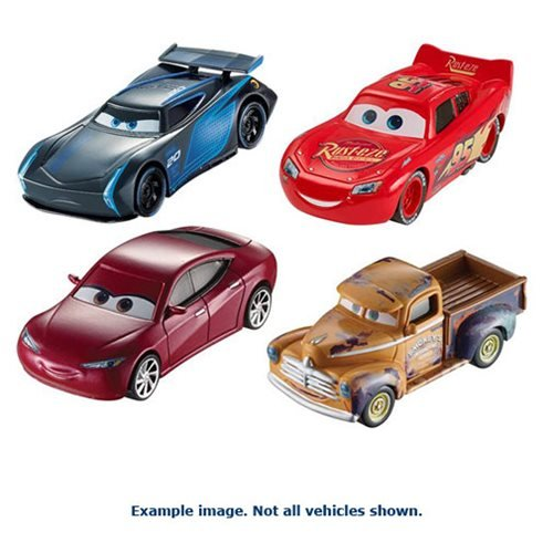 Cars 3 Character Cars 2017 Mix 1 Case