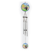 Looney Tunes Tweety and Sylvester Ornamental Metal Wind Chime