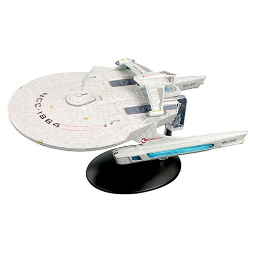 Star Trek Starships Collection Special Large U.S.S. Reliant Vehicle with Collector Magazine #26