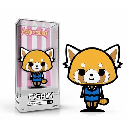Sanrio Aggretsuko FiGPiN Classic Enamel Pin