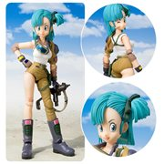 Dragon Ball Bulma SH Figuarts Action Figure P-Bandai Tamashii Exclusive