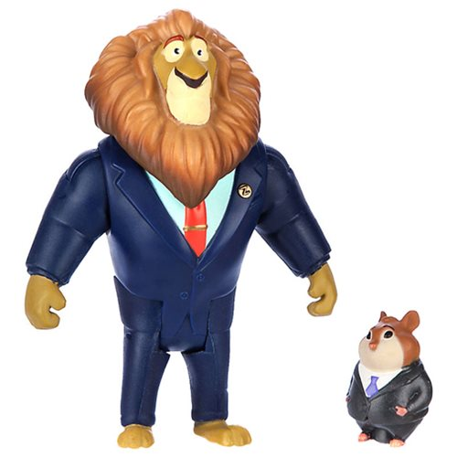 Zootopia Lionheart and Lemming Mini-Figure 2-Pack