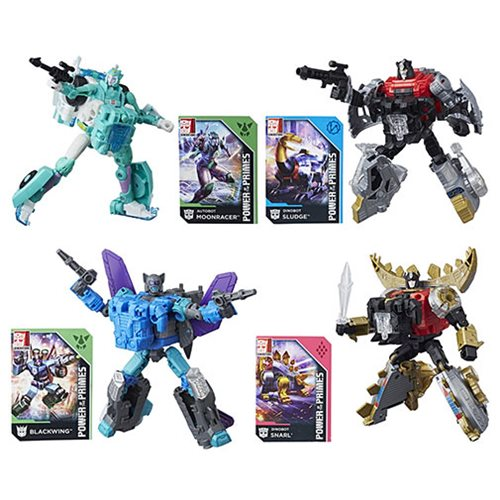Transformers Generations Power of the Primes Deluxe Wave 2R1