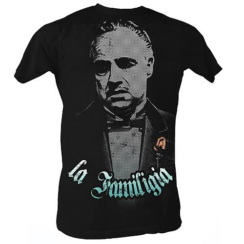 Godfather La Familigia Black T-Shirt
