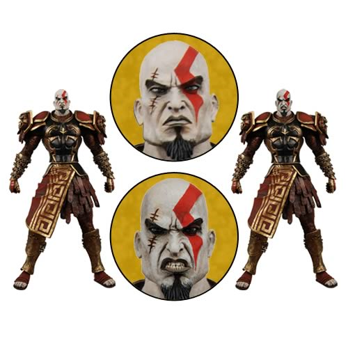 God of War Ares Armor Kratos Action Figure Case
