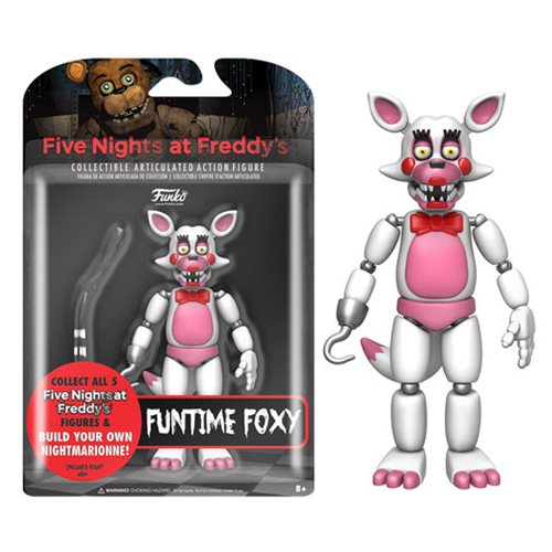 Five Nights at Freddy's Funtime Foxy 5-Inch Action Figure