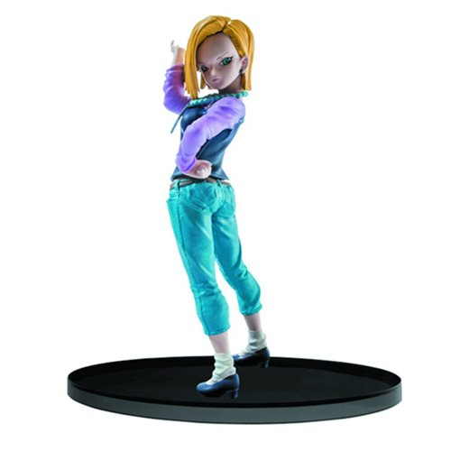 Dragon Ball Super Sculture Big Budokai Android 18 Statue, Not Mint