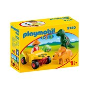 Playmobil 9120 1.2.3 Explorer with Dinosaurs