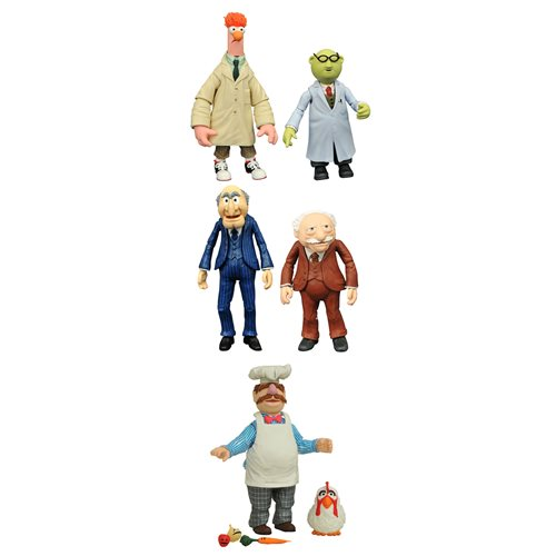 Muppets Best Of Series 2 Figure Set