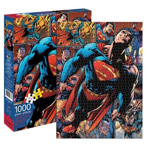 Aquarius Puzzles Subway Map.Superman 1 000 Piece Puzzle