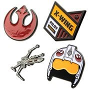 Star Wars Rebel 4-Pack Enamel Pin Set