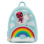 Deadpool 30th Anniversary Unicorn Rainbow Pop! by Loungefly Mini-Backpack