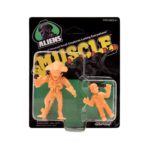 Aliens M.U.S.C.L.E. Pack E Mini-Figures - Burke, Alien Queen
