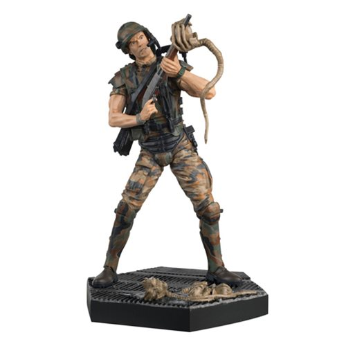 Alien and Predator Alien Hicks Figure with Collector Magazine #3