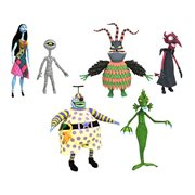 Nightmare Before Christmas Series 6 Action Figure Set