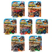 Hot Wheels Monster Trucks 1:64 Scale Vehicle Mix 8 Case
