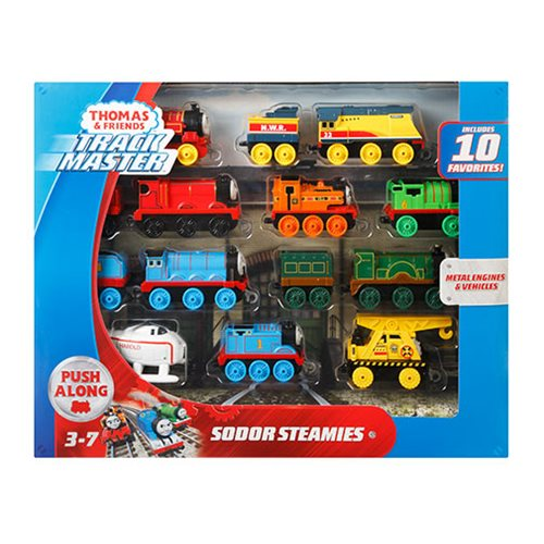 Thomas & Friends Track Master Sodor Steamies Vehicle Set