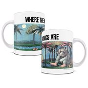 Where The Wild Things Are Classic Cover 11 oz. White Ceramic Mug