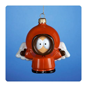 South Park Angel Kenny 4 1/2-Inch Glass Ornament, Not Mint