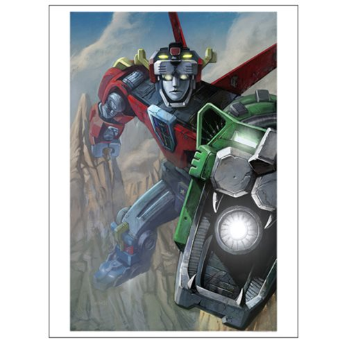 Voltron by Lee Kohse Lithograph Art Print