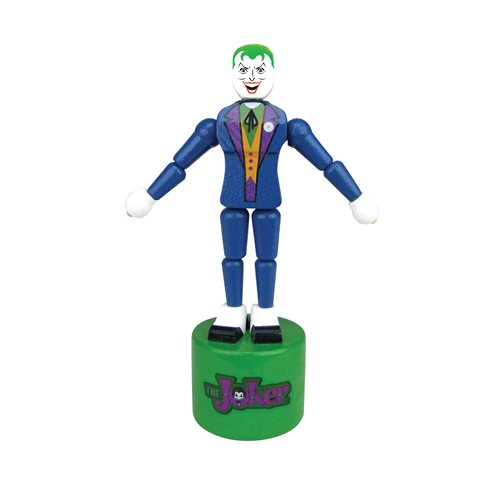 The Joker Wooden Push Puppet