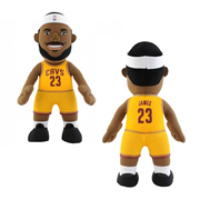 NBA Cleveland Cavaliers LeBron James Gold Jersey 10-Inch Plush Figure