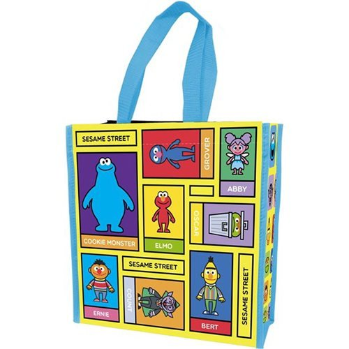 Sesame Street Insulated Shopper Tote